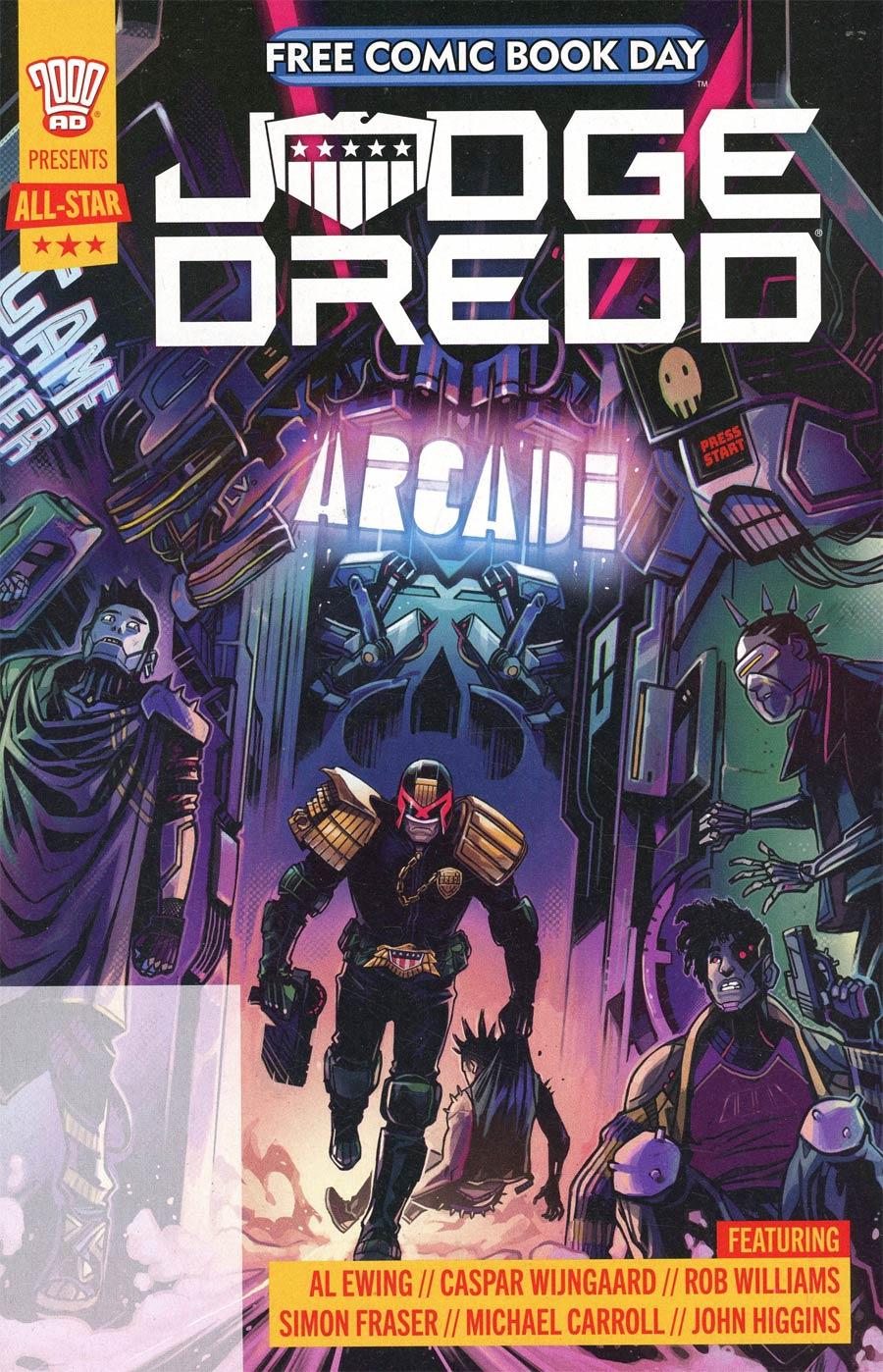 2000 AD Presents All-Star Judge Dredd #1 FCBD 2021 Edition