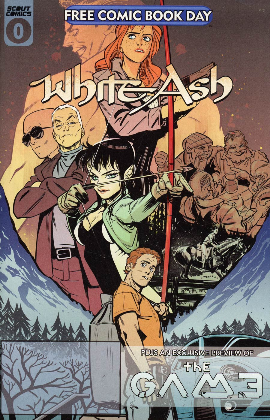 White Ash Season 2 #0 FCBD 2021 Edition