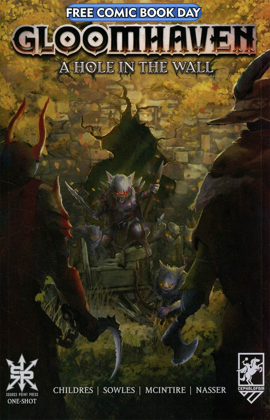 Gloomhaven A Hole In The Wall #1 (One Shot) FCBD 2021 Edition