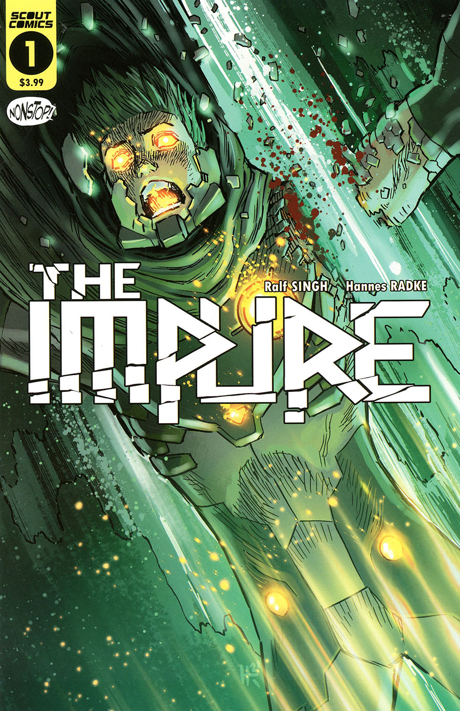 Impure #1 Cover B 2nd Ptg