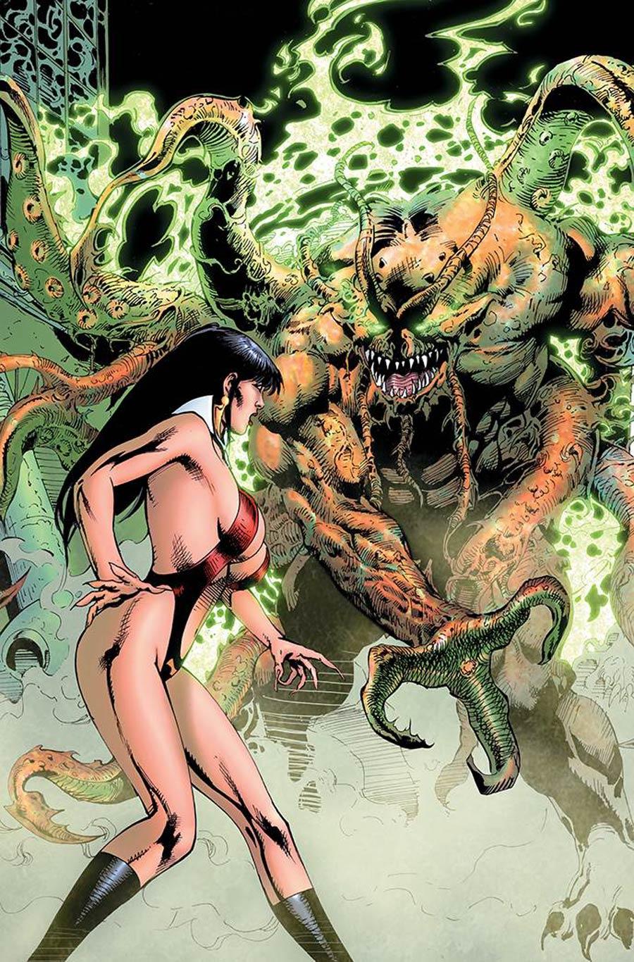 Vampirella Vol 8 #24 Cover P Incentive Roberto Castro Virgin Cover