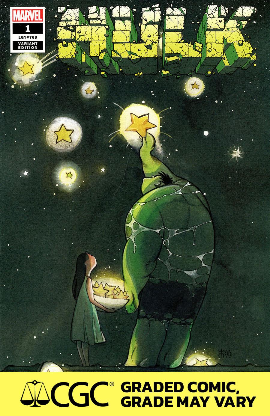 Hulk Vol 5 #1 Cover M DF Peach Momoko Variant Cover CGC Graded 9.6 Or Higher