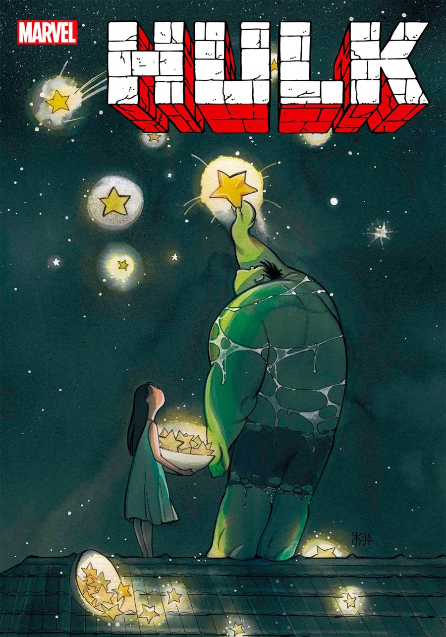 Hulk Vol 5 #1 Cover L DF Peach Momoko Variant Cover Signed By Donny Cates