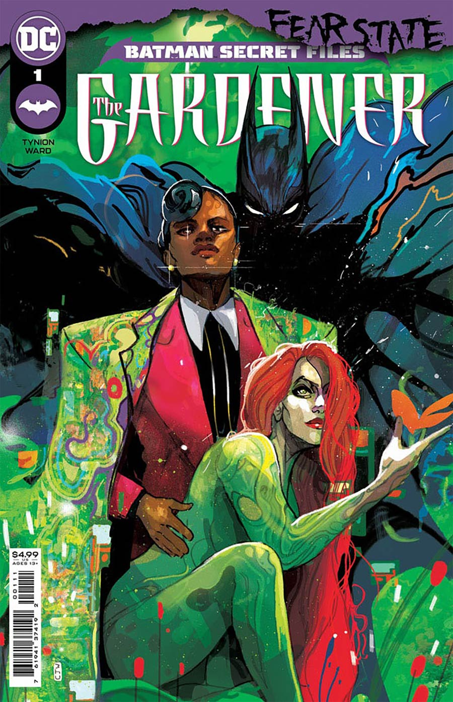Batman Secret Files The Gardener #1 (One Shot) Cover D DF Gold Signature Series Signed By James Tynion IV