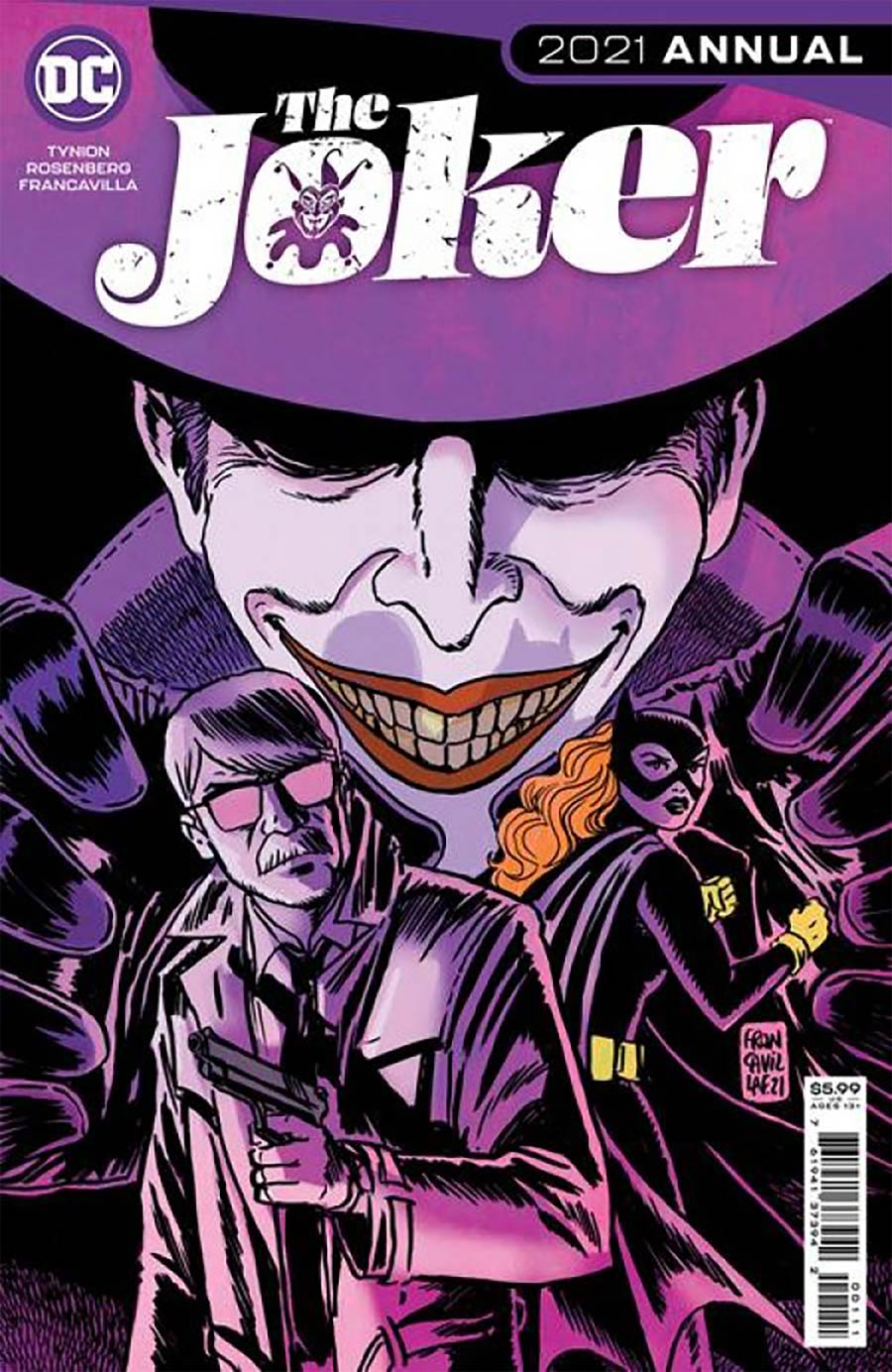 Joker Vol 2 2021 Annual #1 (One Shot) Cover C DF Gold Signature Series Signed By James Tynion IV