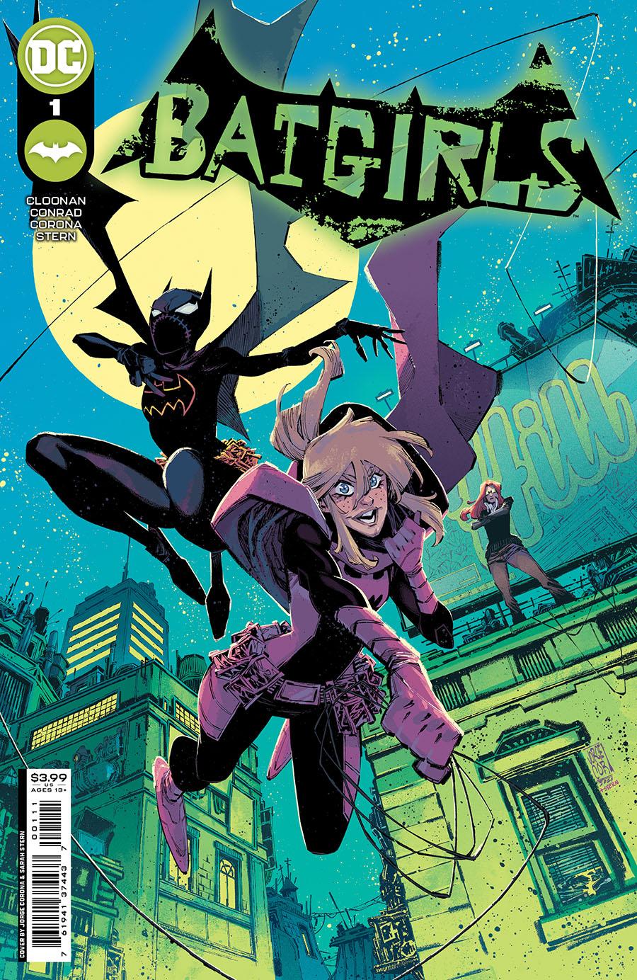Batgirls #1 Cover A Regular Jorge Corona Cover