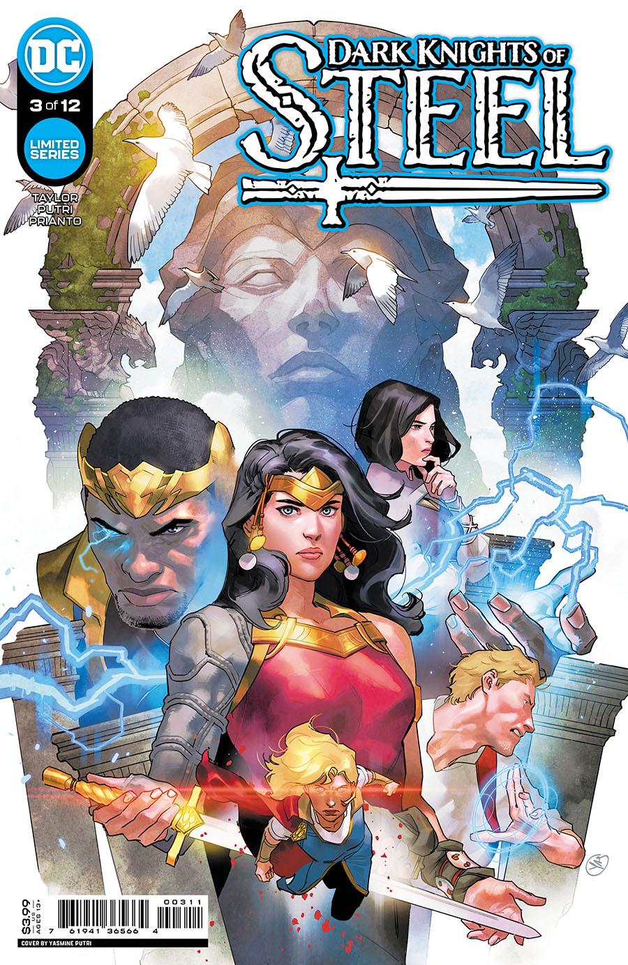 Dark Knights Of Steel #3 Cover A Regular Yasmine Putri Cover