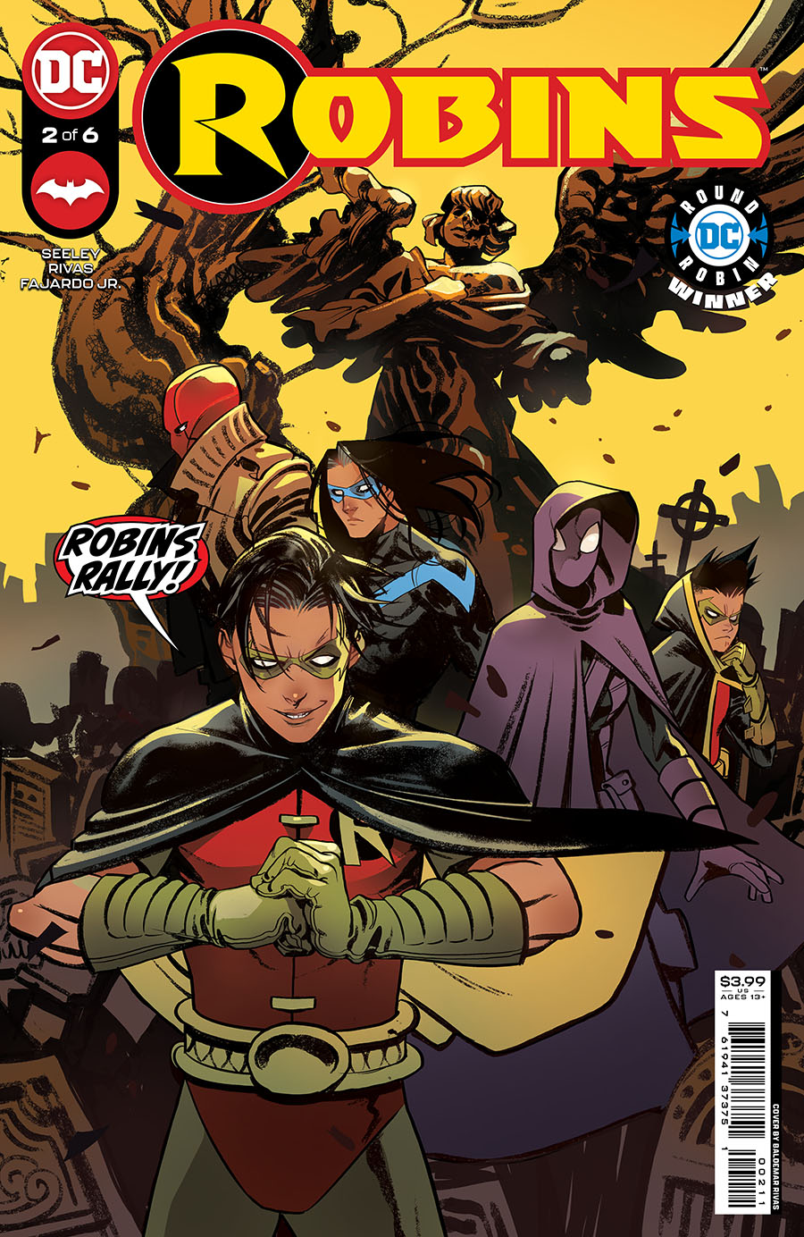 Robins #2 Cover A Regular Baldemar Rivas Cover