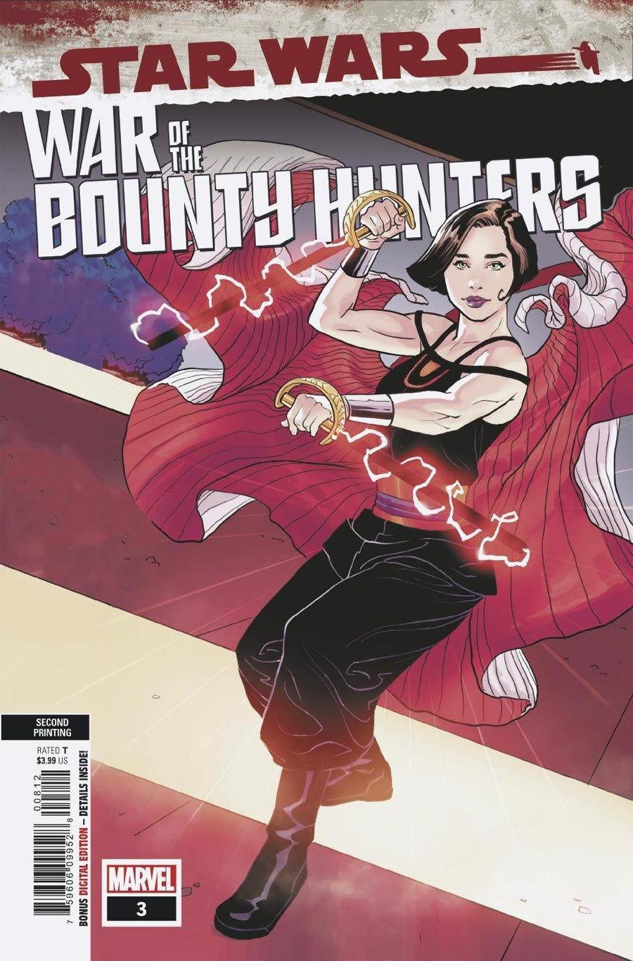 Star Wars War Of The Bounty Hunters #3 Cover K 2nd Ptg Variant Cover