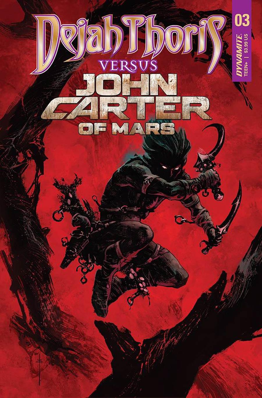 Dejah Thoris Versus John Carter Of Mars #3 Cover L Variant Sebastian Fiumara Cover