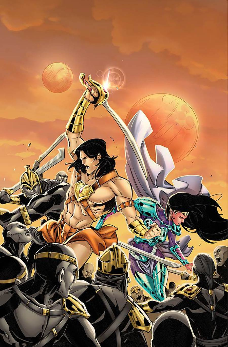 Dejah Thoris Versus John Carter Of Mars #3 Cover N Incentive Alessandro Miracolo Virgin Cover