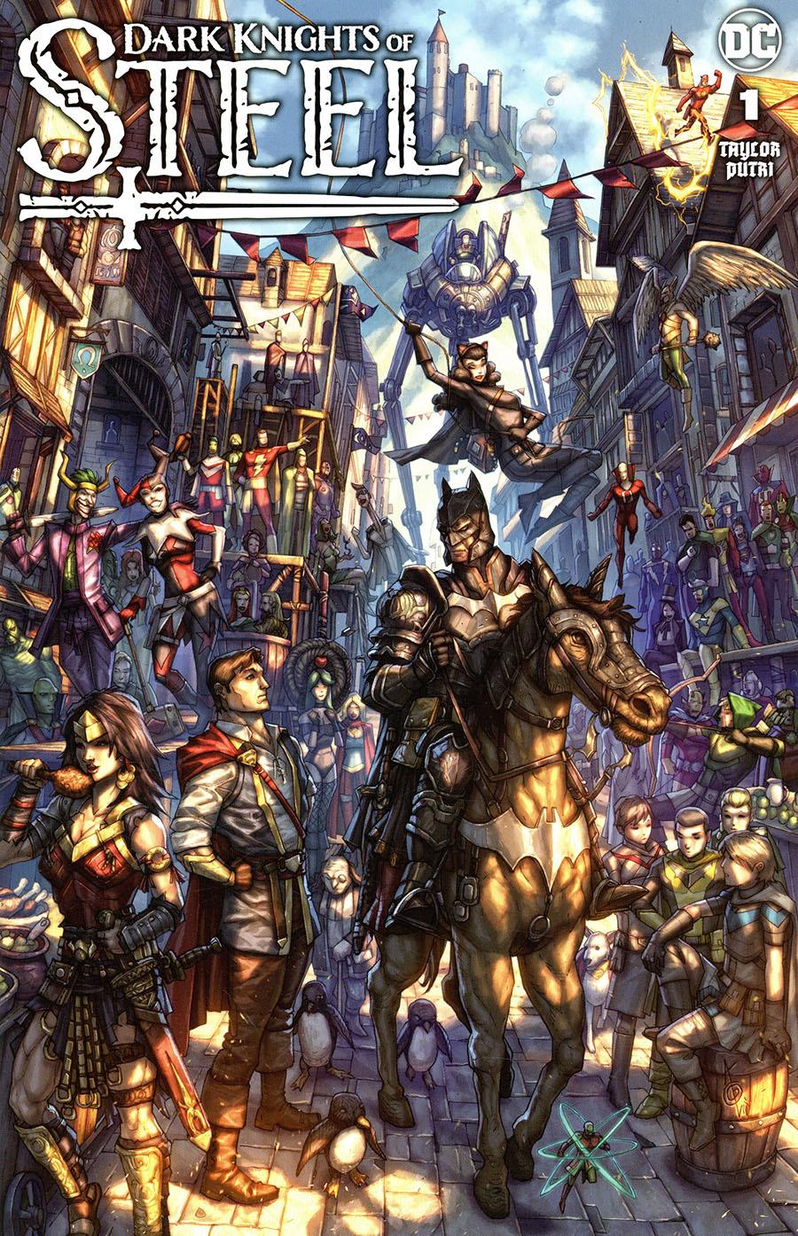 Dark Knights Of Steel #1  Midtown Exclusive Alan Quah Variant Cover