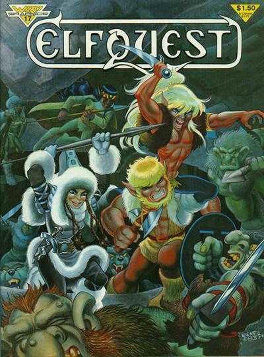 Elfquest Vol 1 Magazine #17