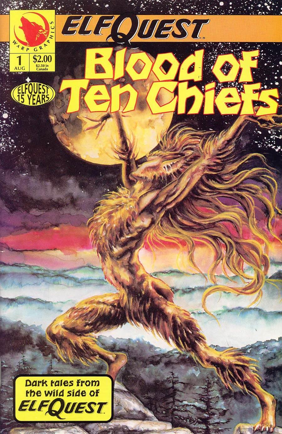 Elfquest Blood Of Ten Chiefs #1