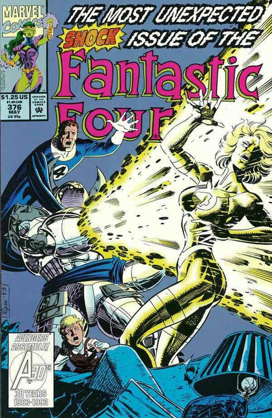 Fantastic Four #376 Cover A Regular Edition