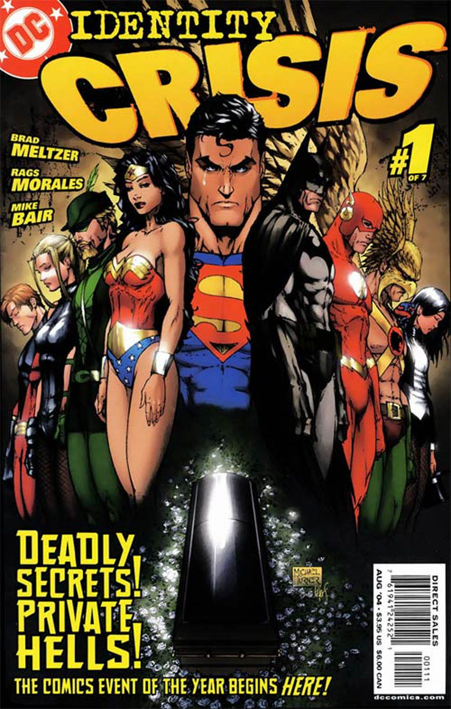 Identity Crisis #1 Cover A 1st Ptg