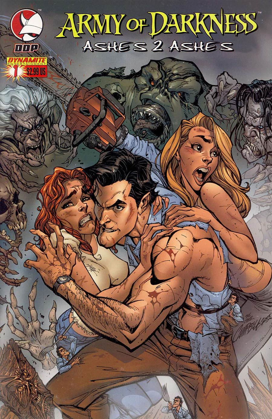 Army Of Darkness Ashes 2 Ashes #1 Cover A Campbell
