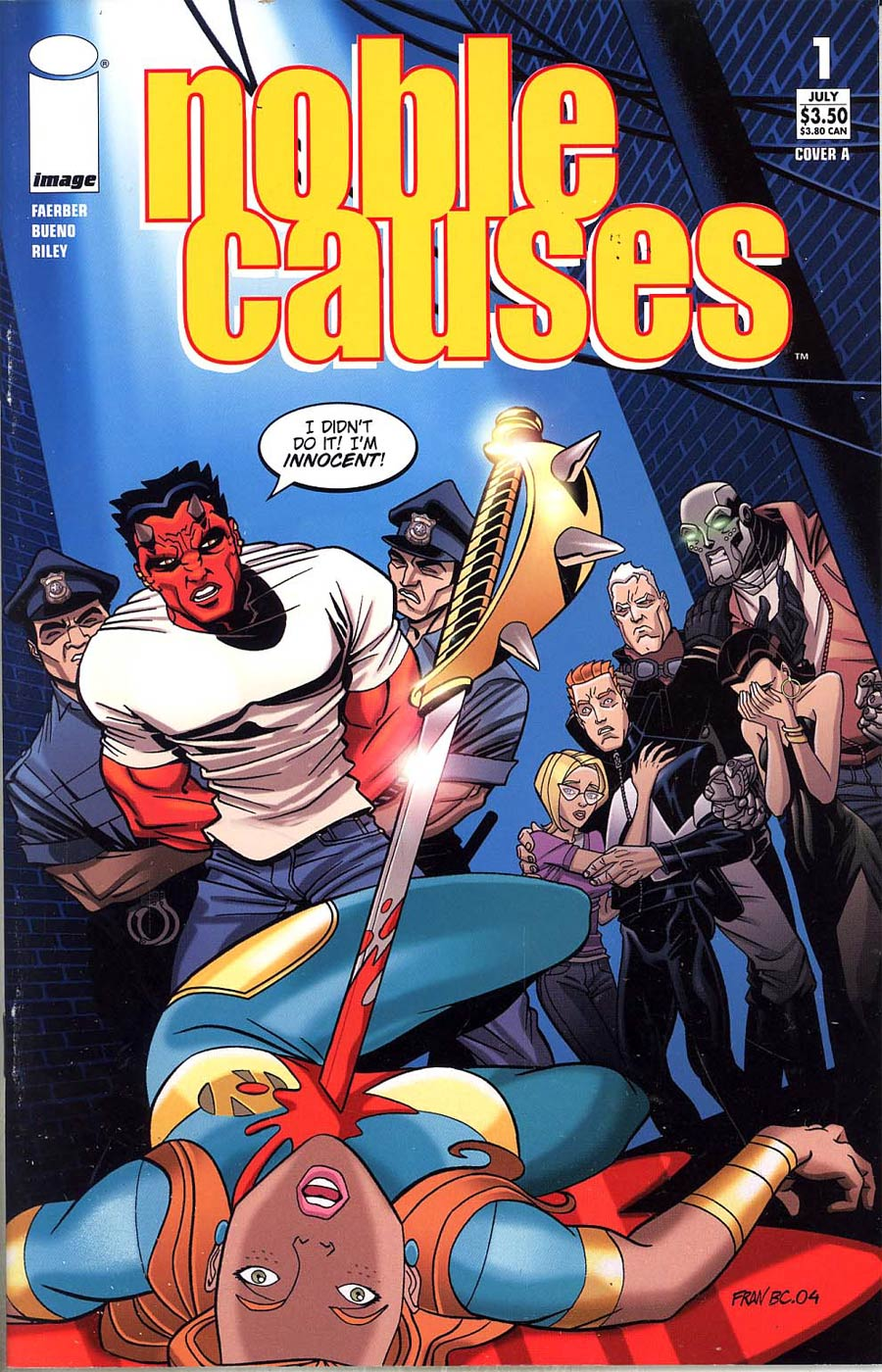 Noble Causes Vol 2 #1 Cvr A Bueno (Ongoing Series)