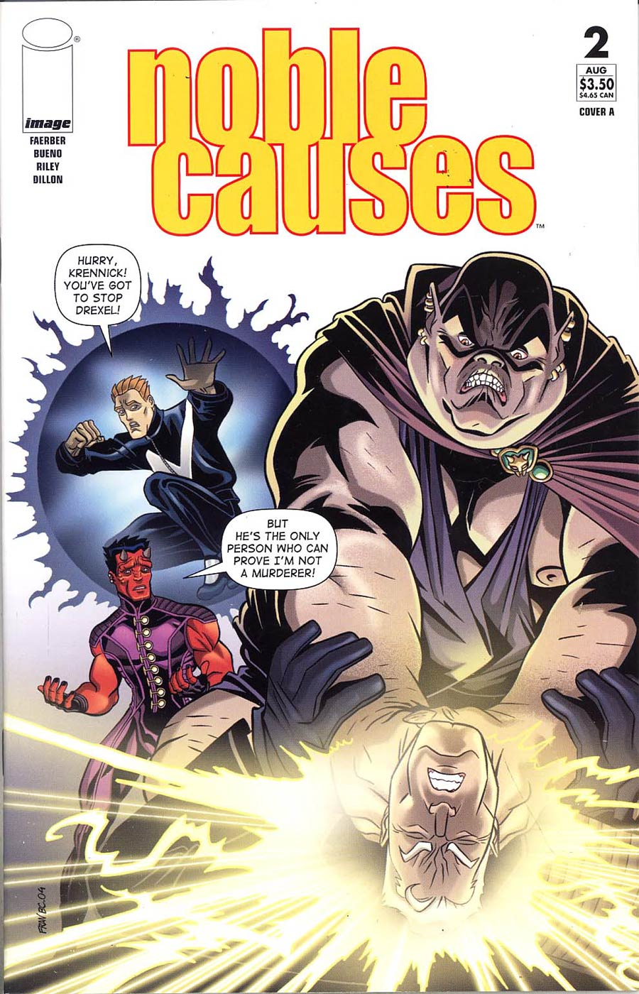 Noble Causes Vol 2 #2 Cvr A Bueno (Ongoing Series)