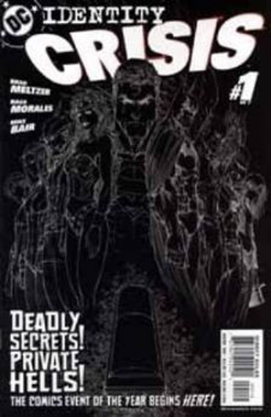 Identity Crisis #1 Cover B 2nd Ptg