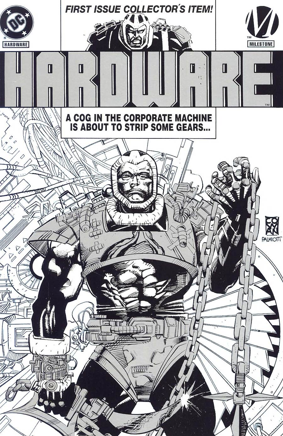 Hardware #1 Cover D Platinum Edition