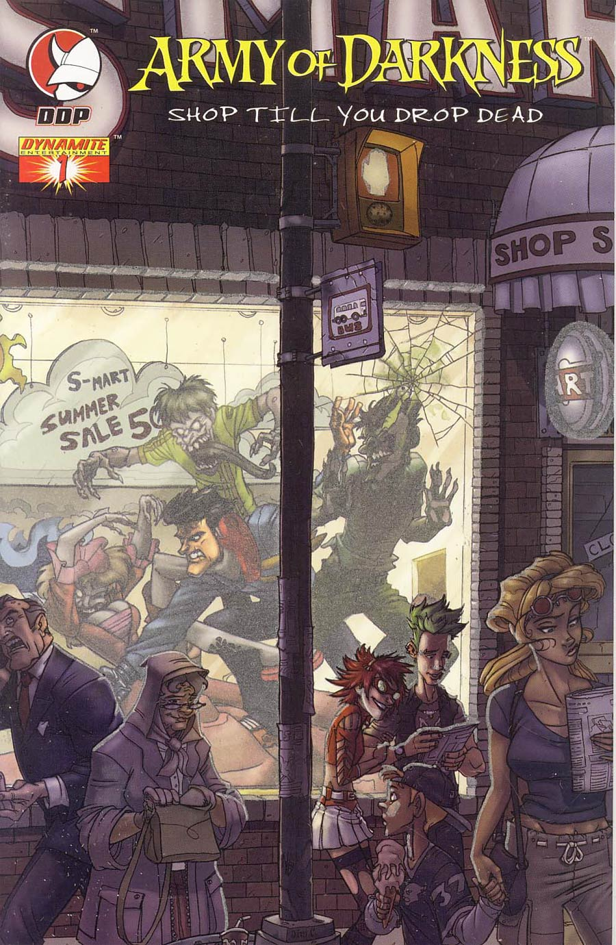 Army Of Darkness Shop Til You Drop Dead #1 Cover H Glow-In-The-Dark Cvr