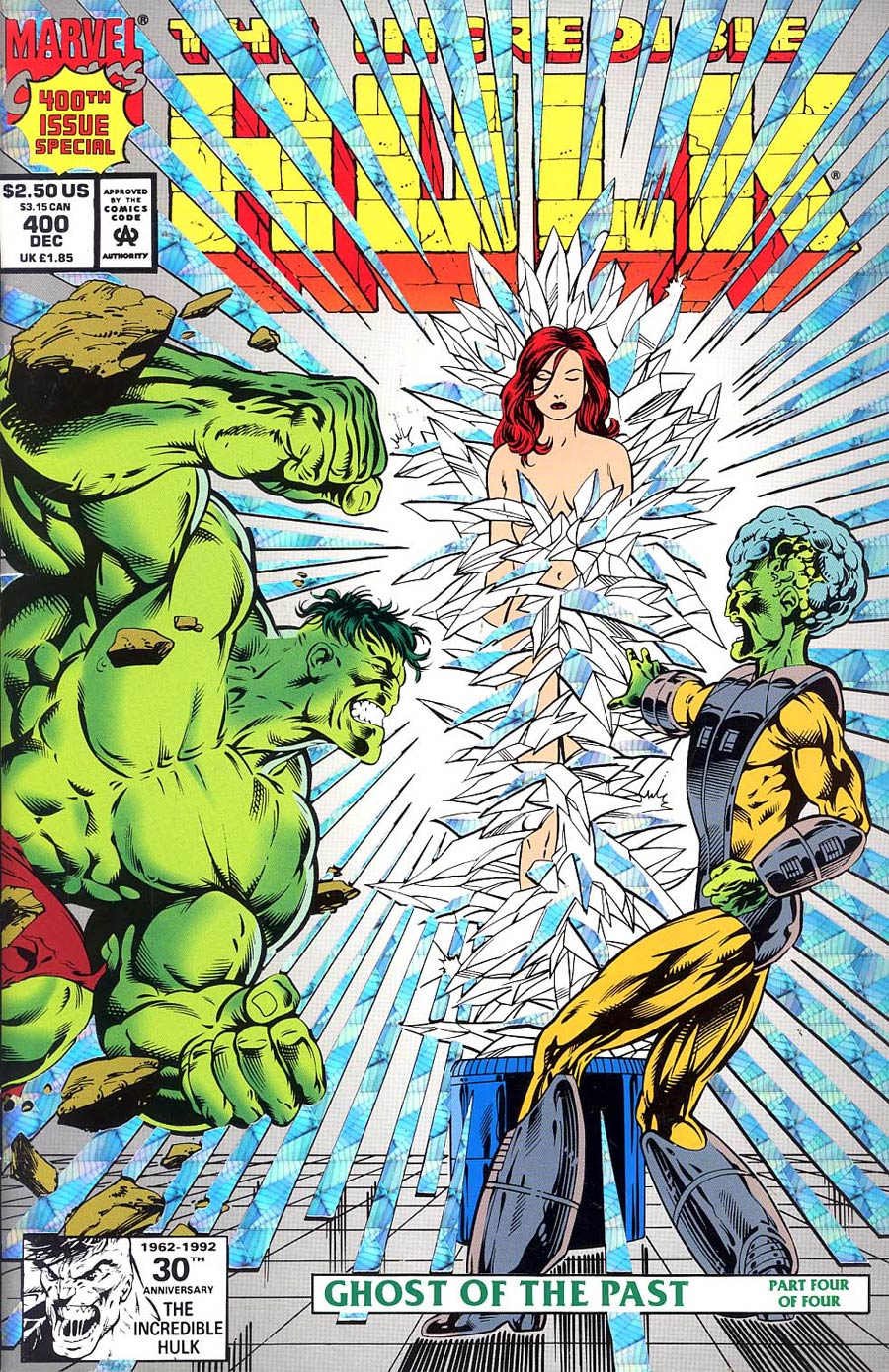 Incredible Hulk #400 Cover B 2nd Ptg