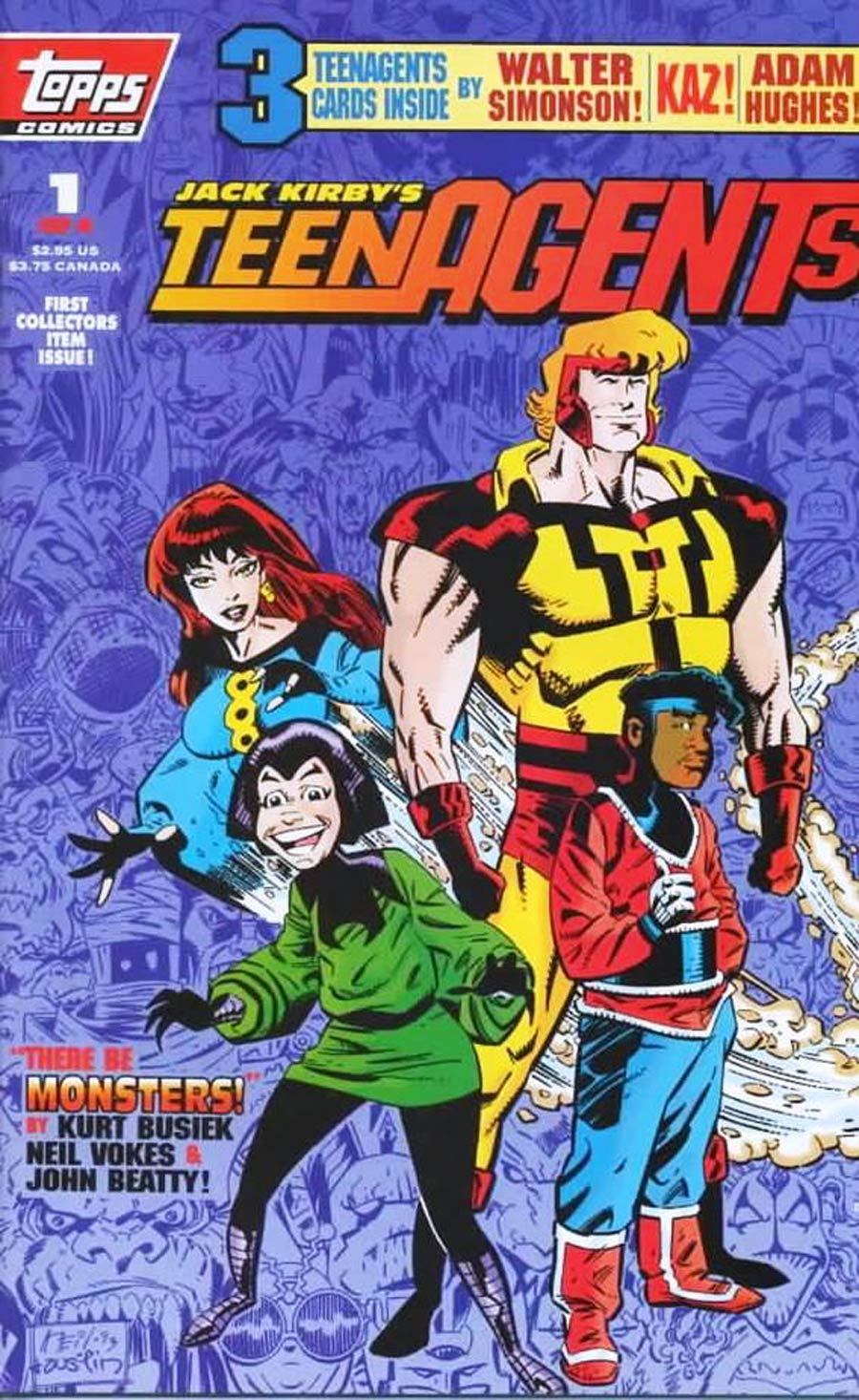 Jack Kirbys Teenagents #1 Cover A With Polybag