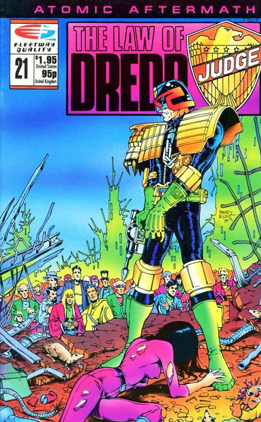 Law Of Dredd #21