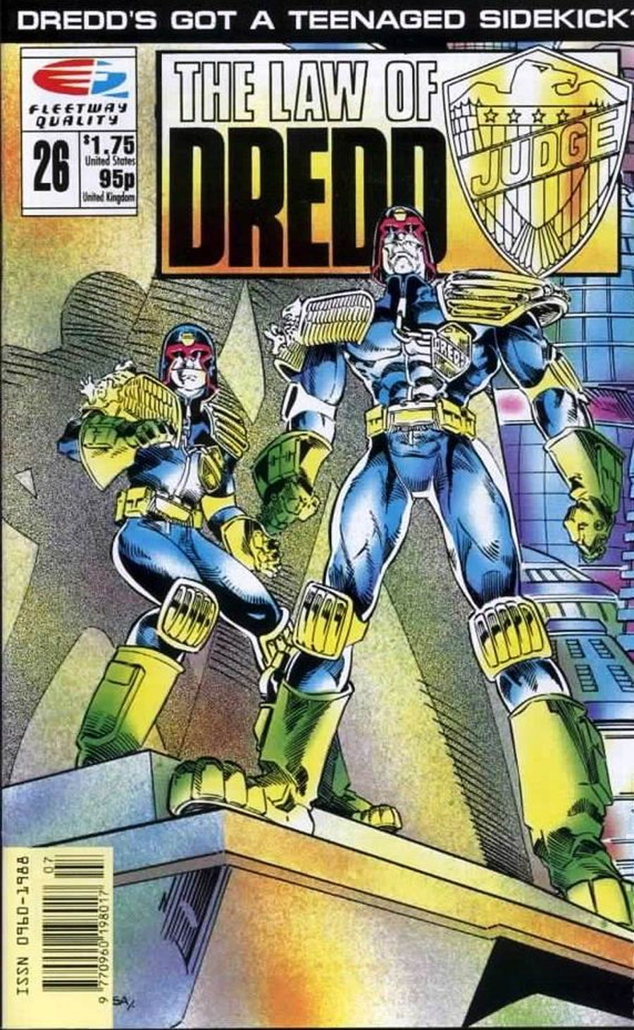 Law Of Dredd #26