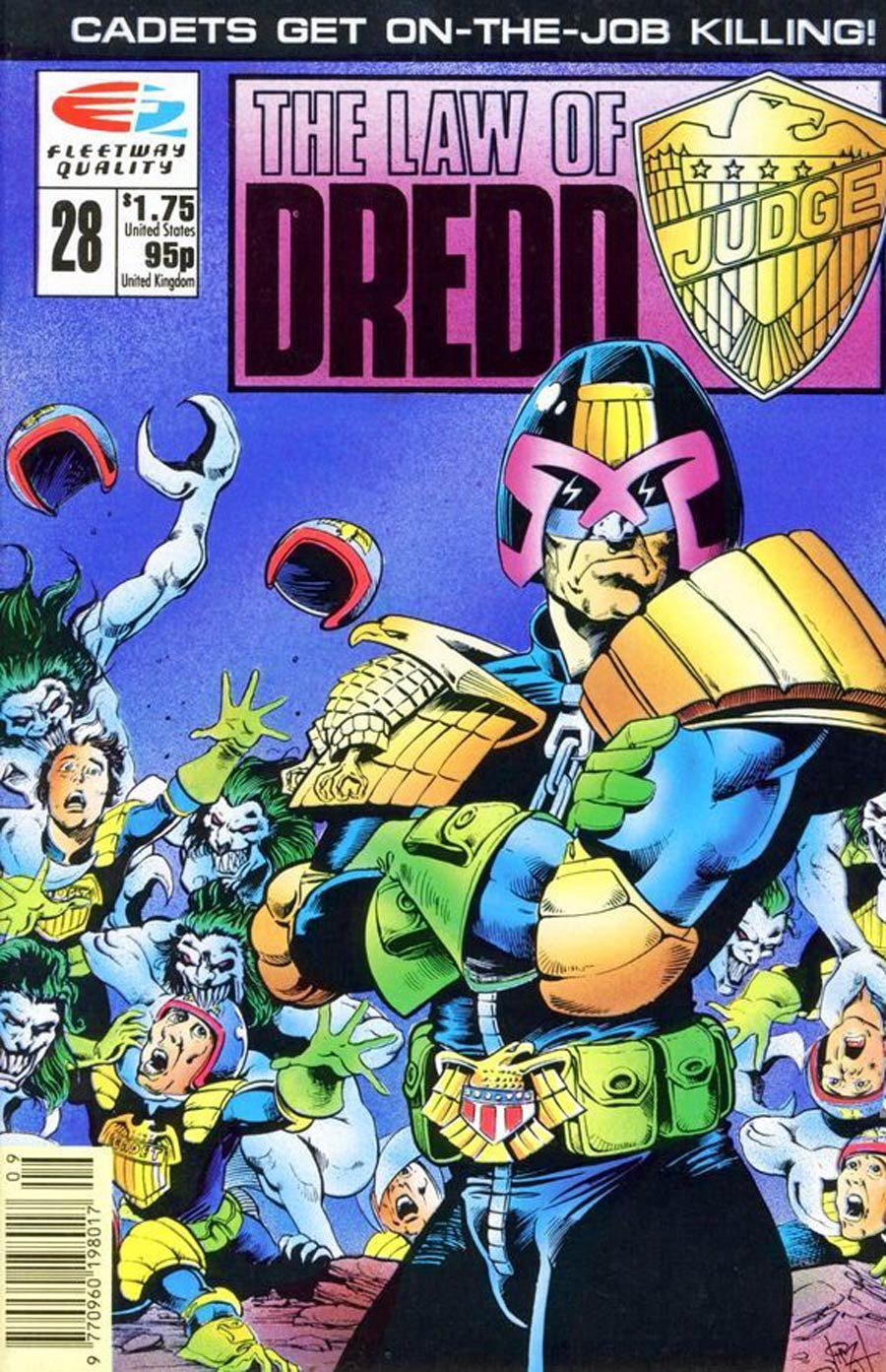 Law Of Dredd #28