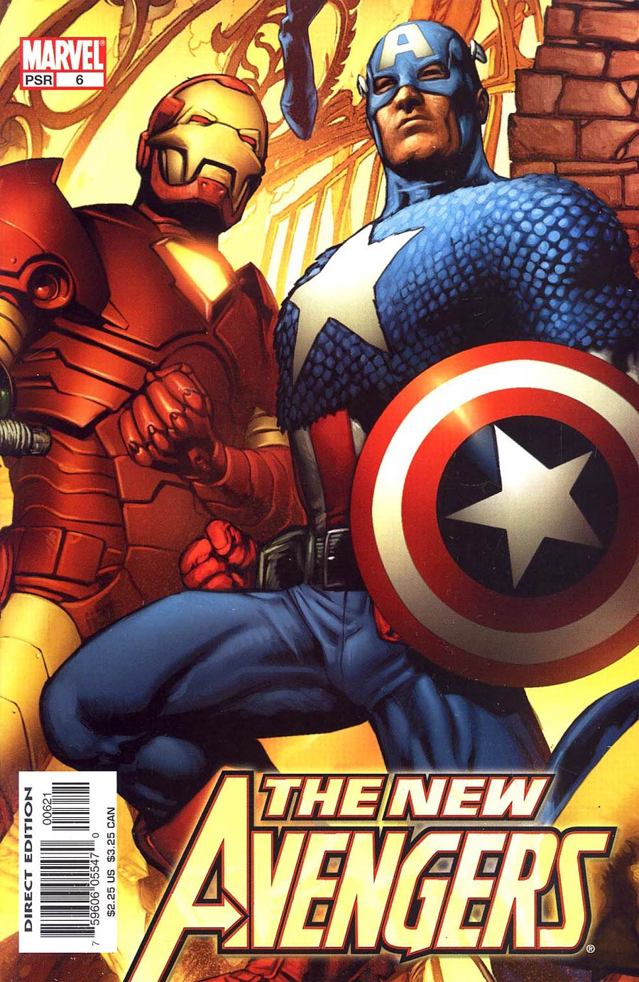 New Avengers #6 Cover B Incentive Hitch Variant