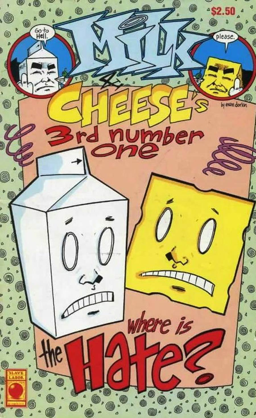 Milk And Cheese #3 (3rd Number One) Cover A 1st Ptg