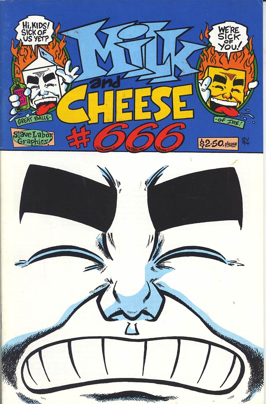 Milk And Cheese #6 (#666) Cover A 1st Ptg