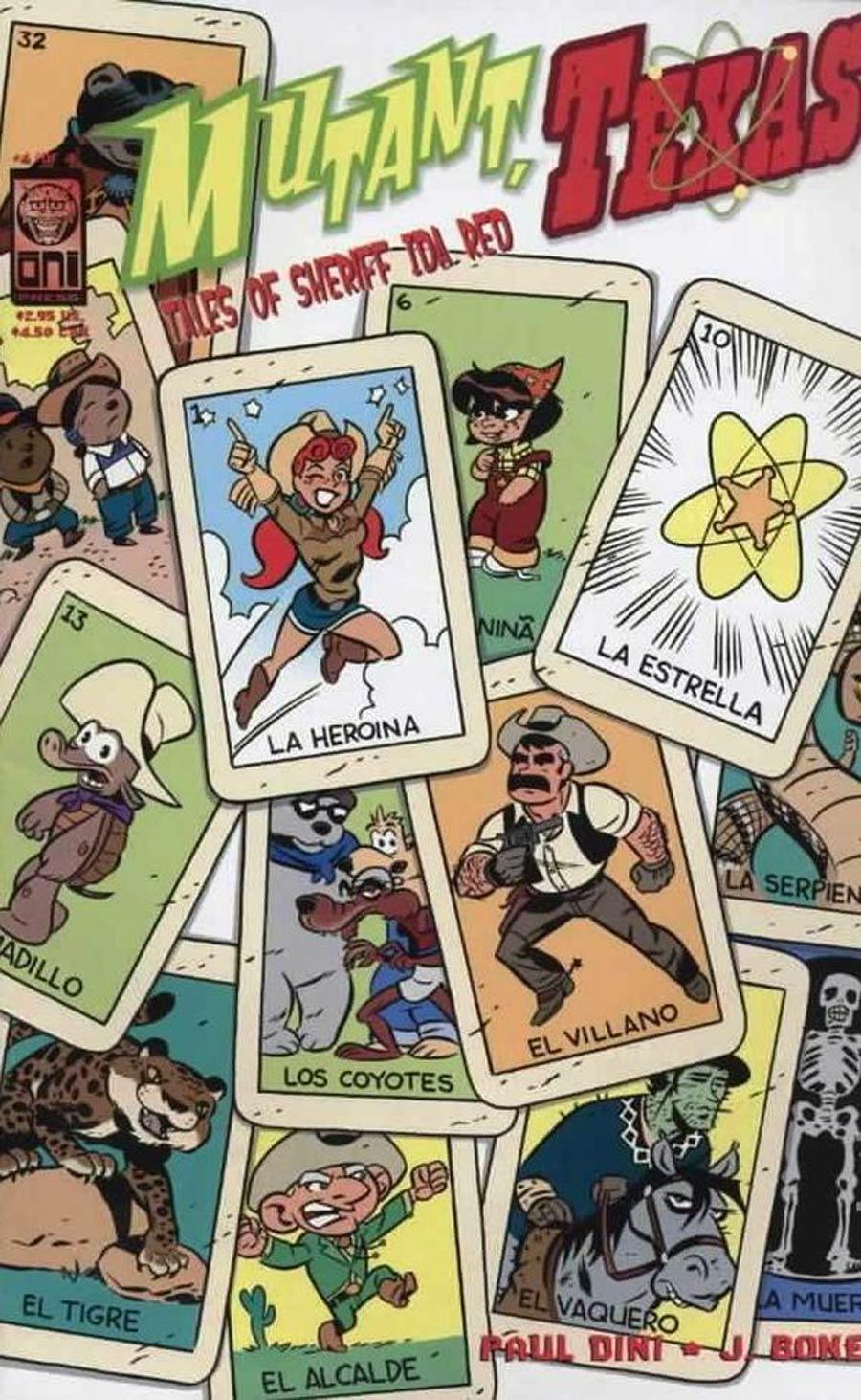 Mutant Texas Tales Of Sheriff Ida Red #4