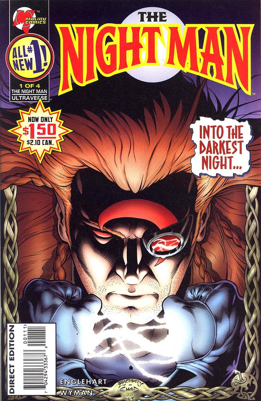 Night Man Vol 2 #1