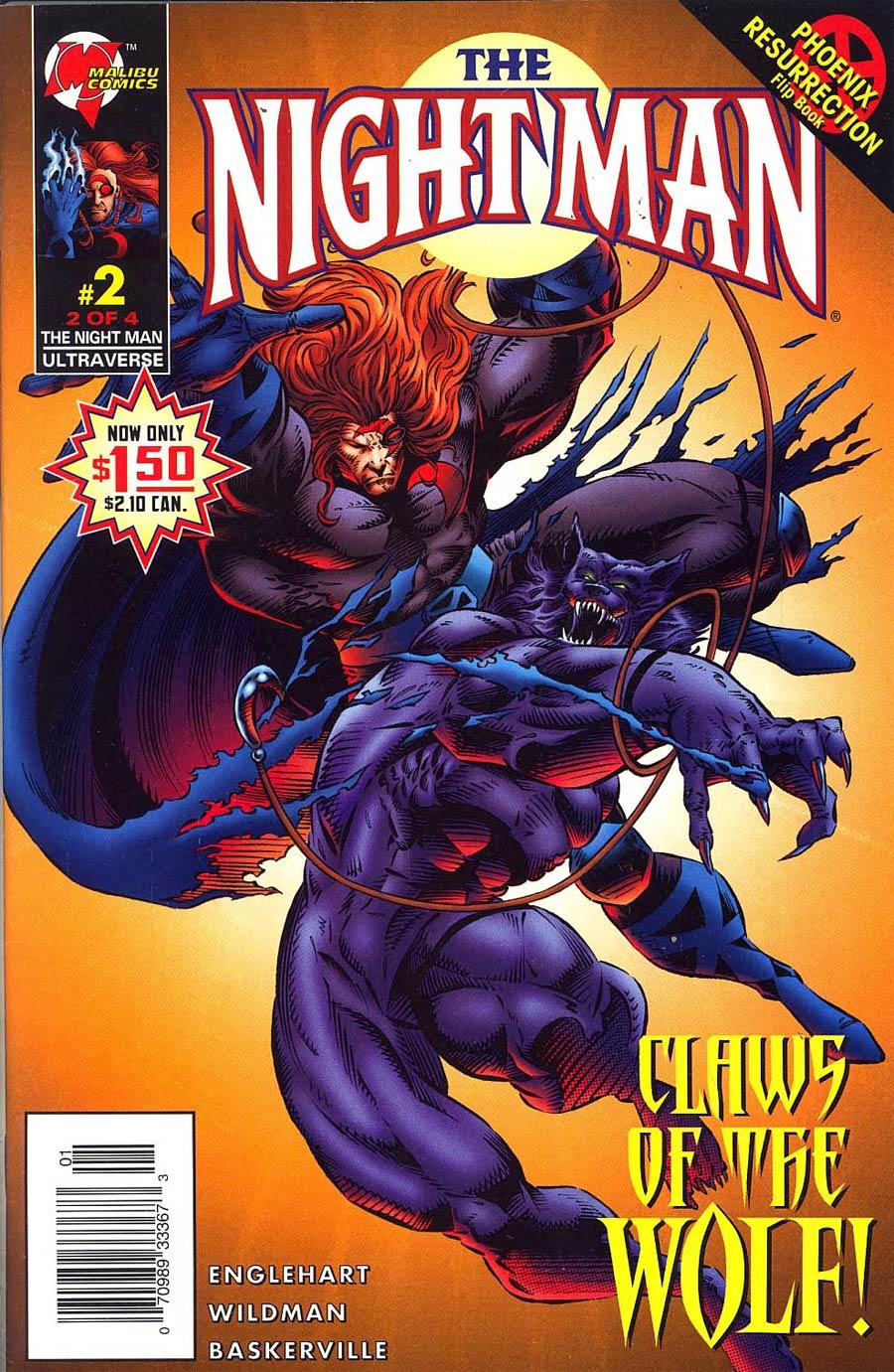Night Man Vol 2 #2