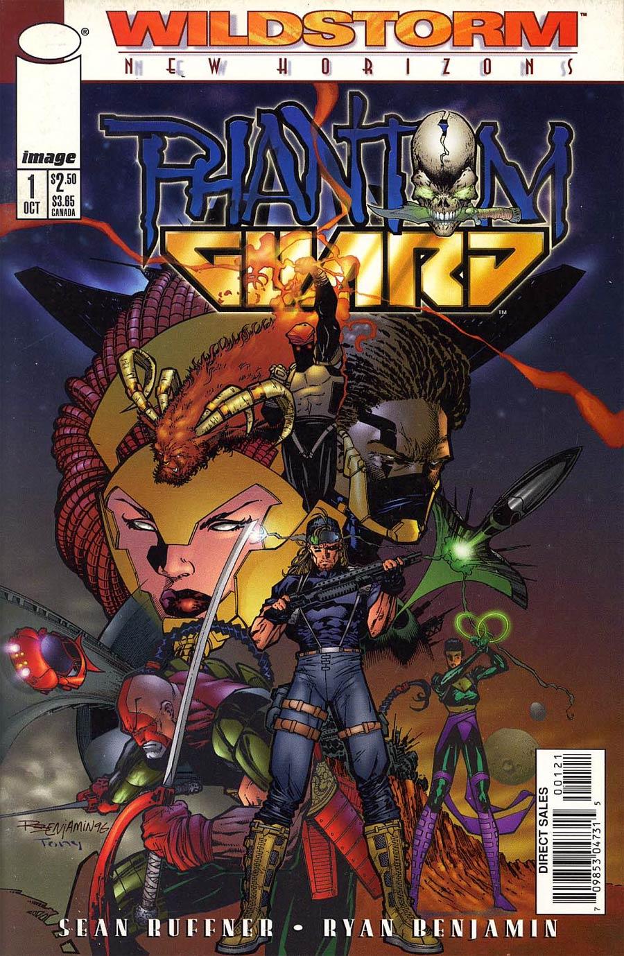 Phantom Guard #1 Cover A Ryan Benjamin