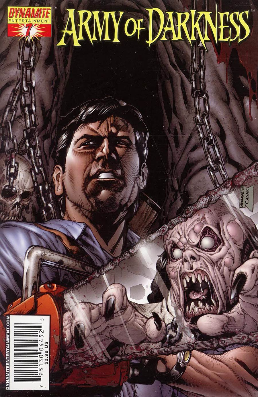 Army Of Darkness #7 Cover B Sharpe Cover
