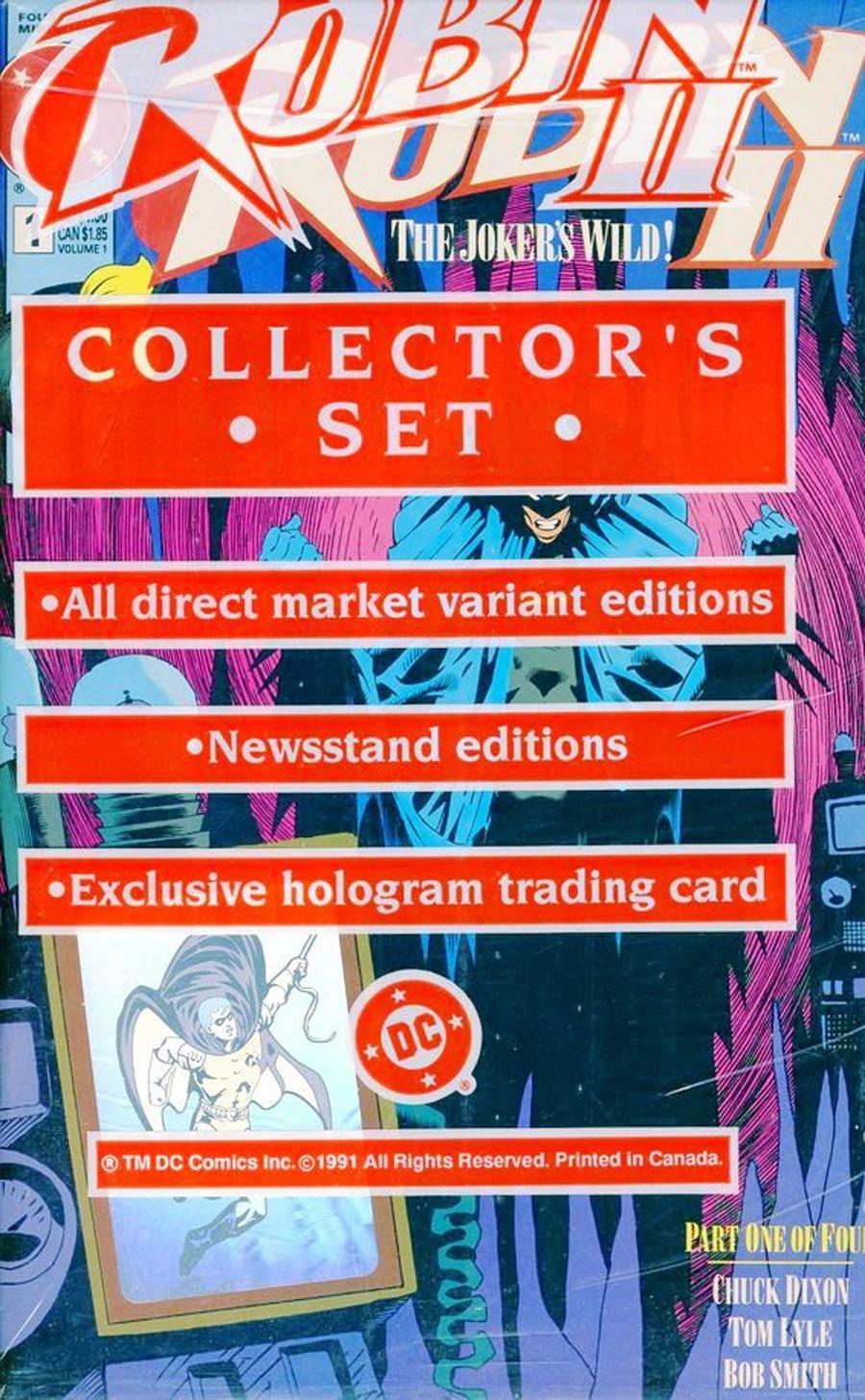 Robin Vol 2 #1 Cover F Collectors Set