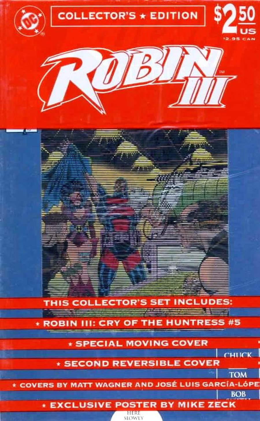 Robin Vol 3 #5 Cover A Cry Of The Huntress Collectors Edition With Polybag