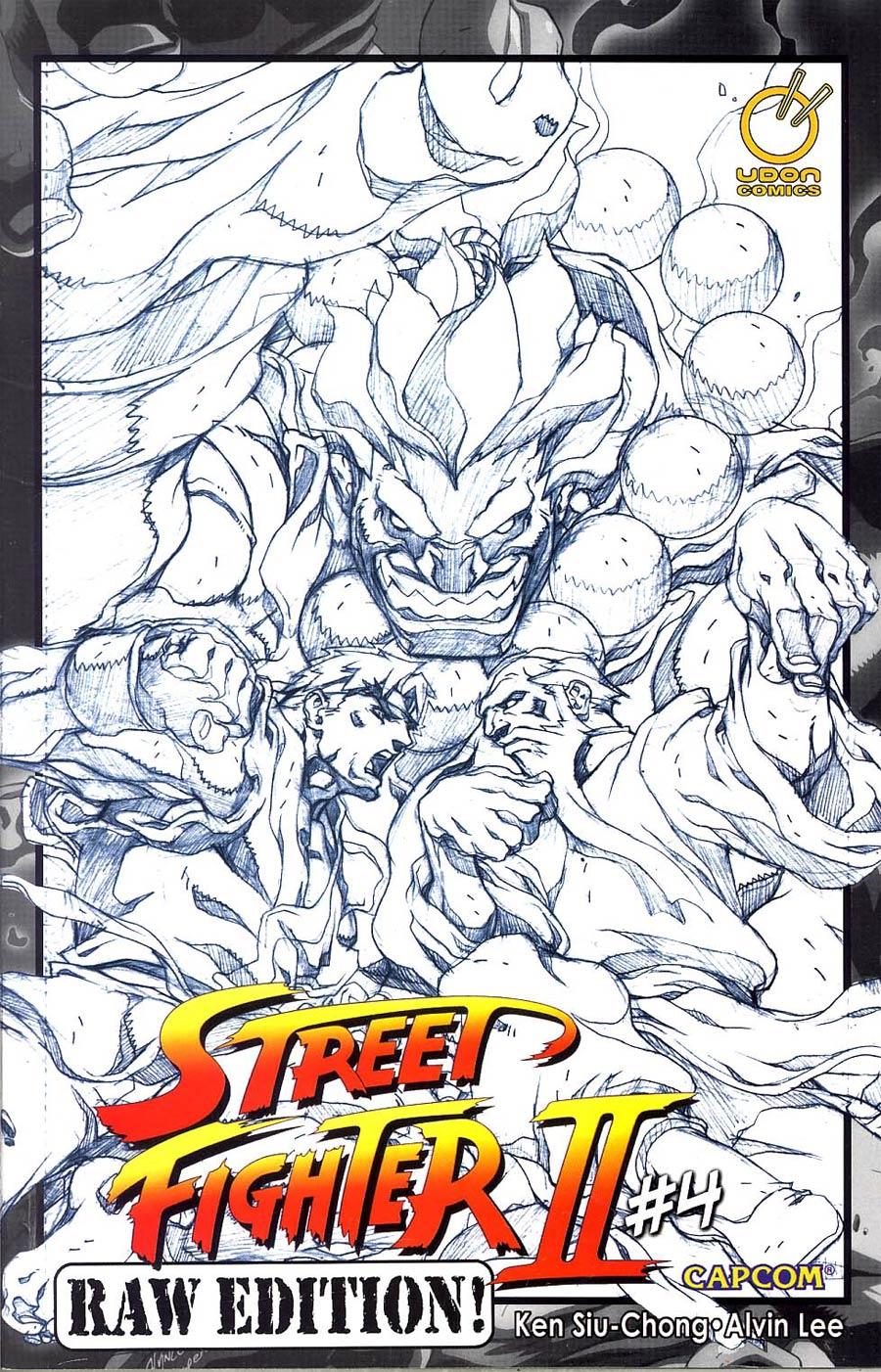Street Fighter II (UDON) #4 Cvr C Raw Edition