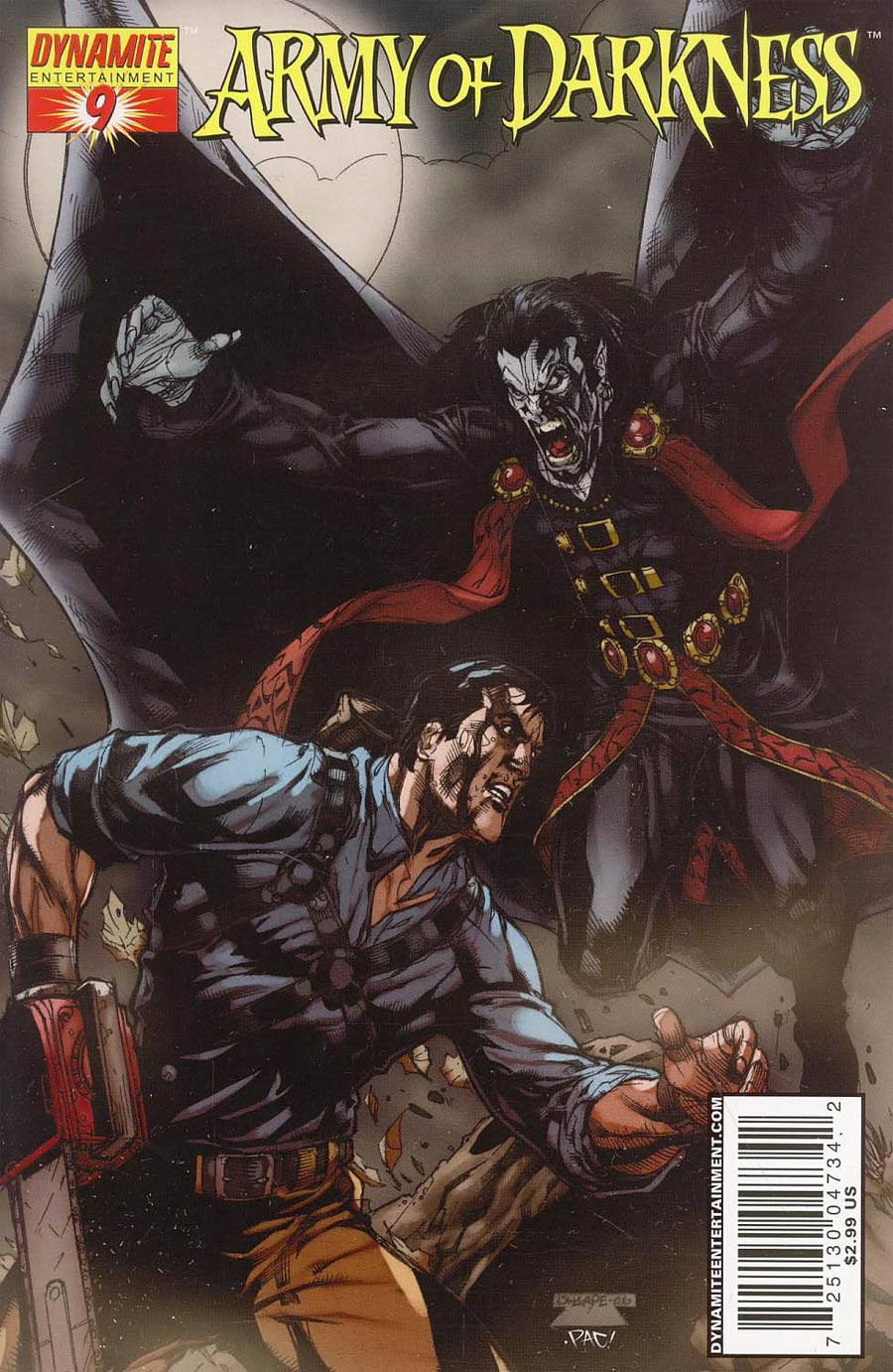 Army Of Darkness #9 Cover A Sharpe Cover