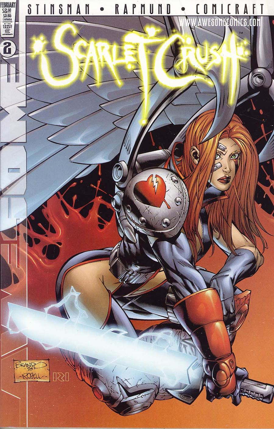 Scarlet Crush #2 Cover A Peterson
