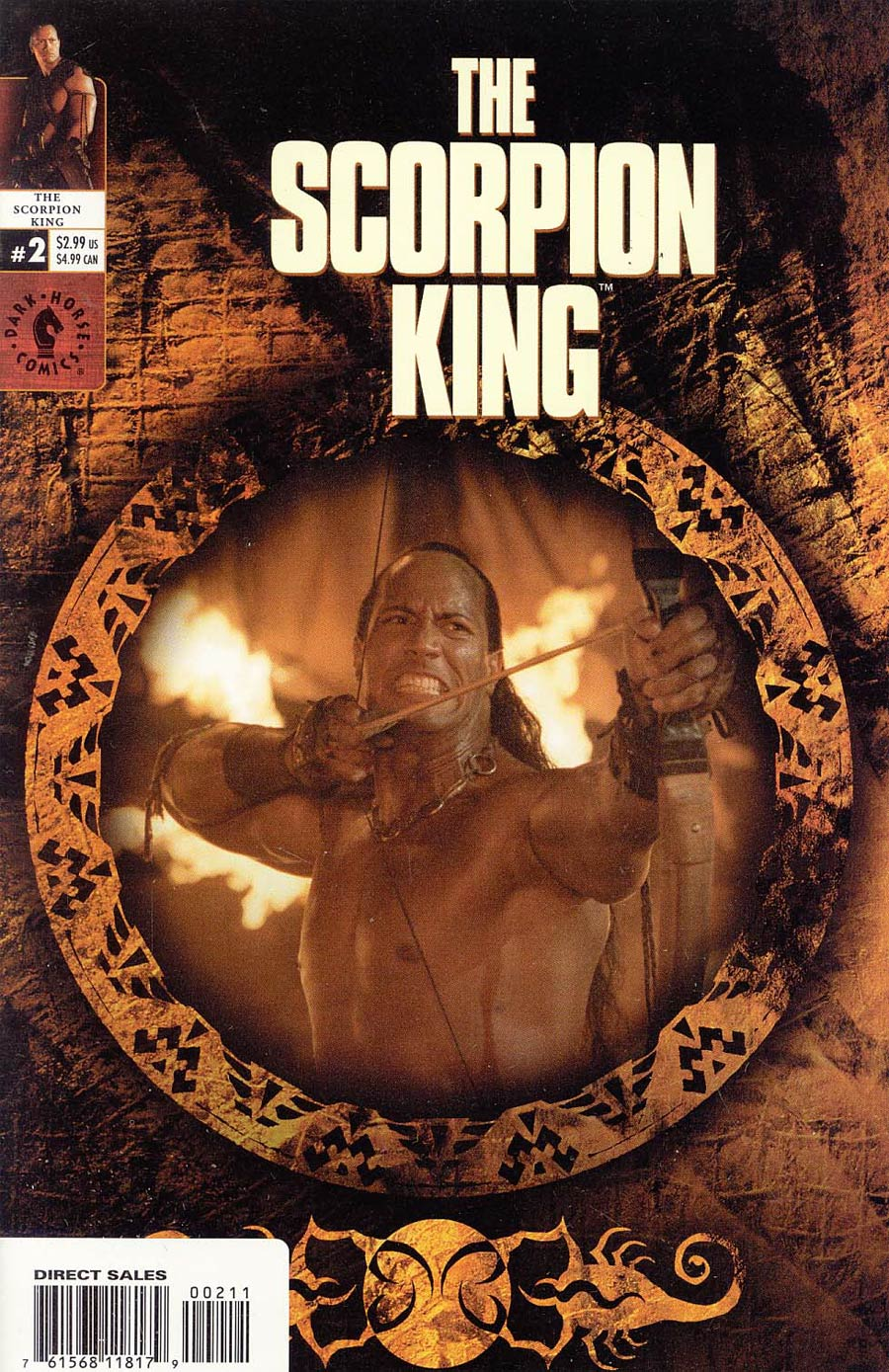 Scorpion King #2 Cover B Regular Photo Cover