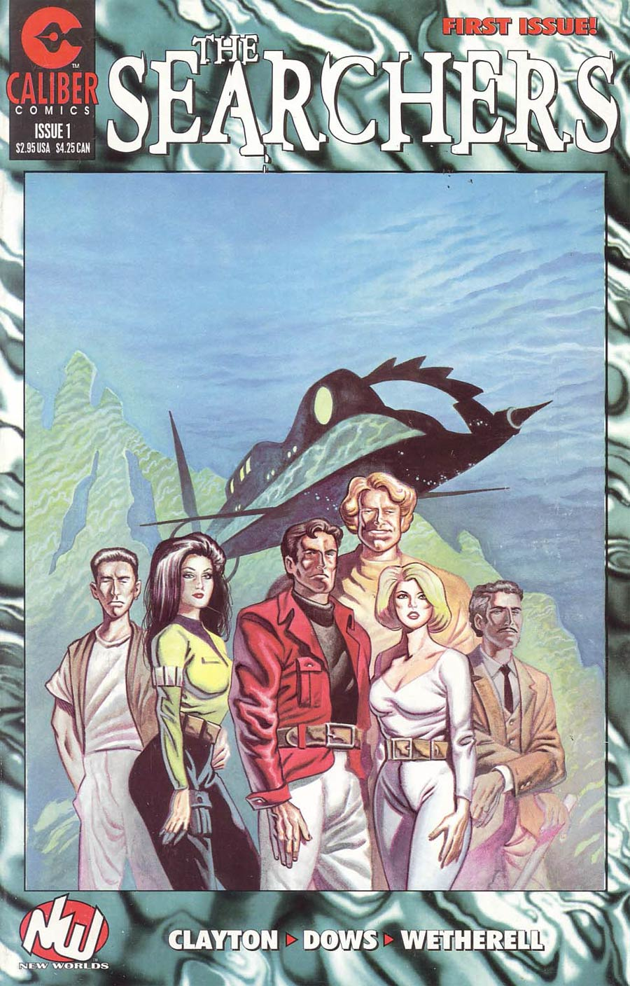 Searchers #1 Cover A Blue Cover