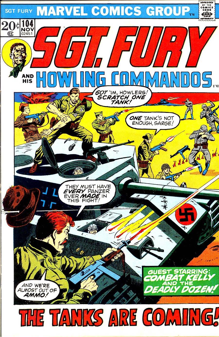 Sgt. Fury & His Howling Commandos #104