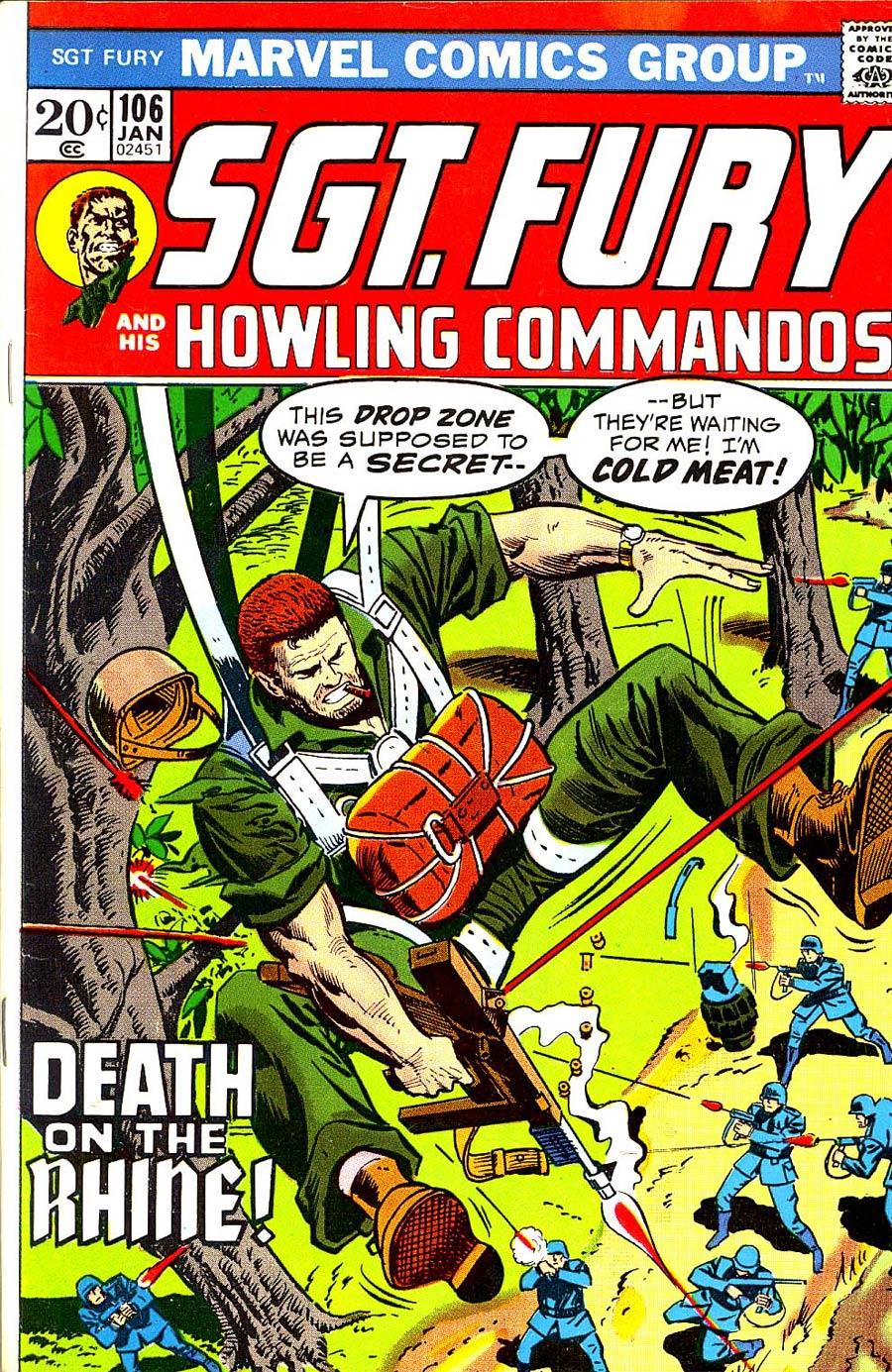 Sgt. Fury & His Howling Commandos #106