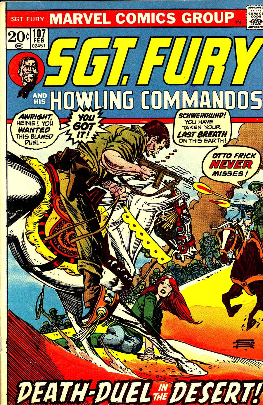 Sgt. Fury & His Howling Commandos #107