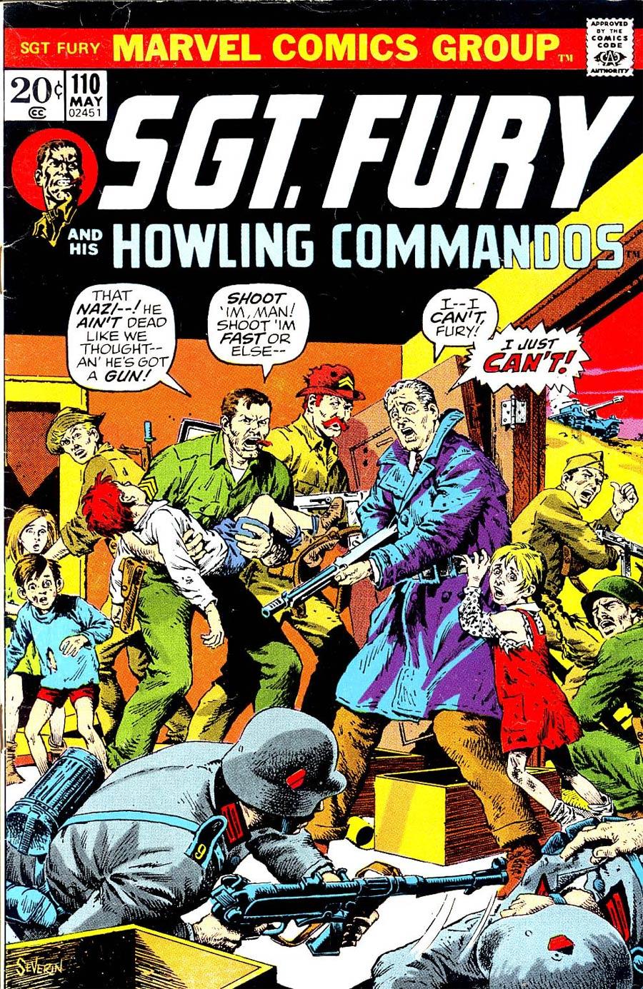 Sgt. Fury & His Howling Commandos #110